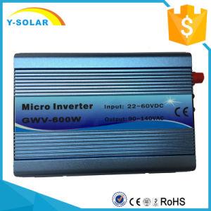 Gwv-600W-110V-B 22-60VDC 90-140VAC Solar Grid Tie Micro Inverter pictures & photos