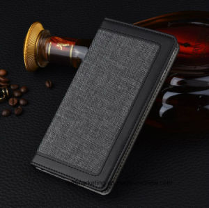 Fabric Wallet Cell Mobile Phone Case for iPhone 8/8plus pictures & photos