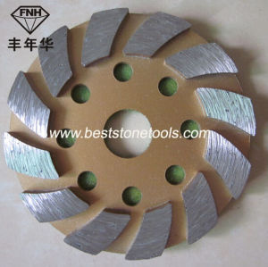 CD-14 Concrete Diamonds with Metal Iron Grinding Pad