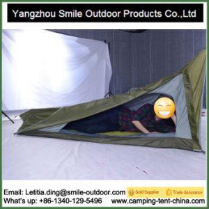 1 Person Promotional Custom Triangle Backpacking Camping Tent pictures & photos