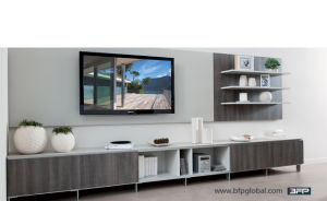 Wooden HPL TV Cabinet Bedroom Furniture Unit pictures & photos