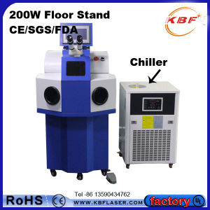 100W Jewelry Laser Welding Machine for Necklace Glasses pictures & photos