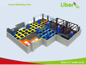 Wholesale Customized Indoor Trampoline Park, Commercial Trampoline pictures & photos