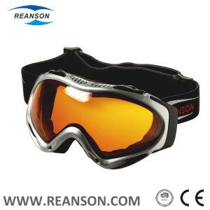 Flow Vent System Anti-Fog Double Lenses Snow Goggles pictures & photos