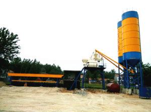 Hzs35 Mini Concrete Mixing Plant pictures & photos