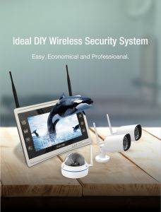 Home Security Wireless Camera IP CMOS WiFi Camera pictures & photos