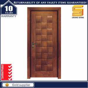 Mahogany Exterior and Interior Solid Wooden Wood Door pictures & photos