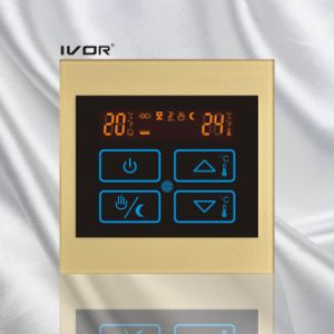 Underfloor Heating Thermostat Touch Switch Acrylic Frame (SK-HV100B-M/L) pictures & photos