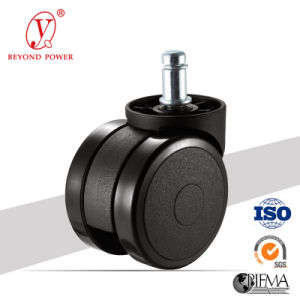 PVC 60mm Chair Caster Wheel Furniture Caster Swivel Caster pictures & photos