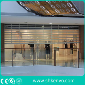 Commercial Store Automatic Transparent Clear Polycarbonate Roller Shutter Door pictures & photos