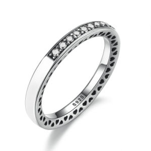 925 Sterling Silver White Gold Finger Ring Rings Design for Women with Price pictures & photos