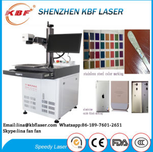 High Quality 10W 20W 30W Fiber Laser Marker Machine pictures & photos