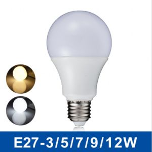 E27 B22 Plastic Aluminum SMD5630 5W 7W 8W 9W 10W 12W Dimmable LED Bulb Light with Ce RoHS pictures & photos