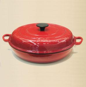 Enamel Cast Iron Sauce Pot Manufacturer From China pictures & photos