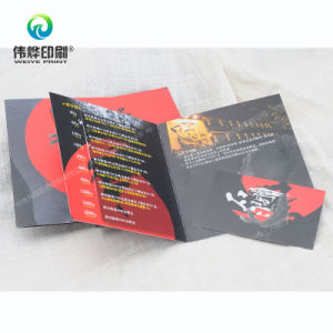 Offset Printing Promotional Folded Invitation Cards pictures & photos