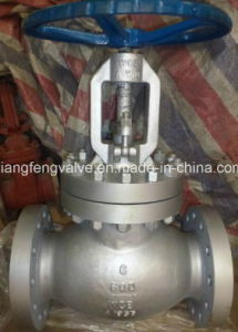 ANSI Flange End Globe Valve with Carbon Steel
