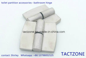 China Manufacturer Toilet Cubicle Partition 304 Stainless Steel Hinge pictures & photos