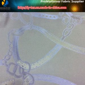 "Polyester Jacquard Fabric with ""Chain"", Polyester Twill Jacquard Fabric for Garment (25) pictures & photos"