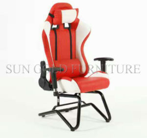 Modern fashion Cheap Hot Sell Beautiful Leather Gaming Chair Racing Chair (SZ-GCR006) pictures & photos
