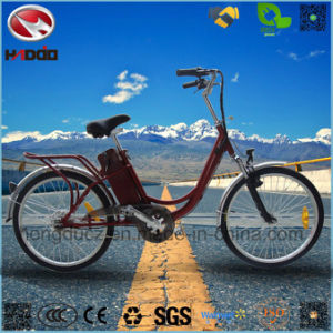 Wholesale 250W Electric City Bike with Lithium Battery pictures & photos