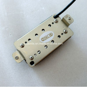 Nickel Silver Baseplate Rail Humbucker Guitar Pickup with High Output pictures & photos