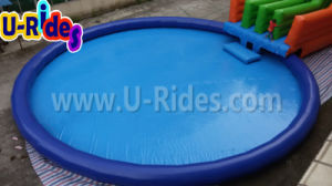 Ocean pool Inflatable Water Park with slide pictures & photos