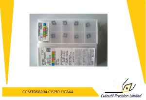Hitachi Ccmt060204 Cy250 Boring Bar Carbide Insert pictures & photos
