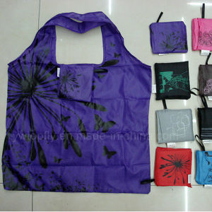 Recycled Polyester Foldable Gift Shopping Promotional Bag pictures & photos