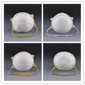 Disposable Non-Woven Facial Dust Mask With Valve For Spray pictures & photos