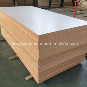 ISO9001: 2008 Furniture Grade 18mm Warm White Melamine MDF pictures & photos