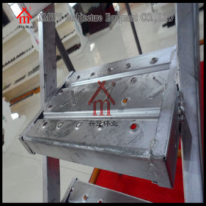 Skid Resistance Steel Scaffolding Ladders with Hooks pictures & photos