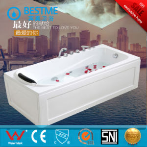 Hot Sale Health Acrylic Jacuzzi Massage Bathtub pictures & photos