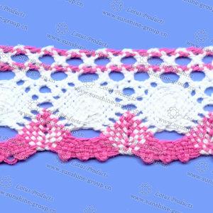 Colorful Cotton Lace Trim for Garment Accessories pictures & photos