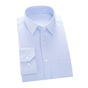 High Quality Long Sleeve Men′s Coton Dress Shirt pictures & photos
