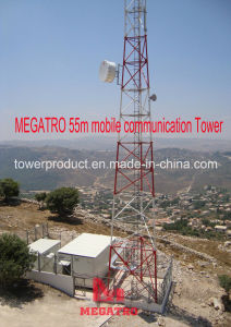 Megatro 55m Mobile Communication Tower pictures & photos