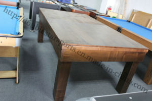 2 in 1 Pool Dining Table Carom Billiard Table for Sale pictures & photos