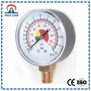Color Dial Gauge Wholesale Compound MPa Pressure Gauge Manufacturer pictures & photos