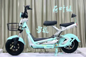 Electric Fat Tire Scooter Moped 1500W Hub Motor E-Bike pictures & photos