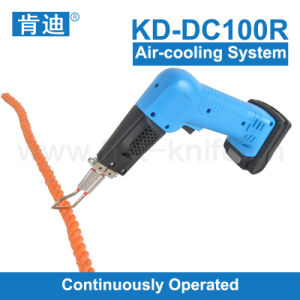 Air-Cooling Cordless Hot Knife PP Rope Cutter/Webbing Cutter
