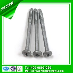 Carbon Steel 6#*45 Pan Head Self Drilling Screw pictures & photos