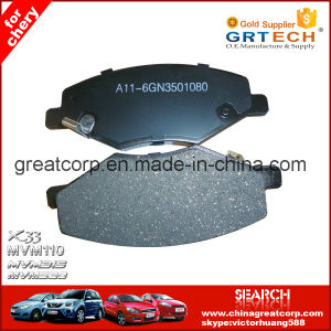 A13-3501080 OEM Quality Front Brake Pad for Chery