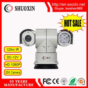 2.0MP 20X 100m IR HD IP PTZ CCTV Camera pictures & photos