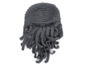 New Fashion Great Funny Design Knitted Beanie Cap/100% Acrylic Kint Hat pictures & photos