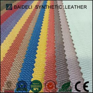 100% PVC Synthetic Leather for Sofa Couches Chairs Furniture Upholstery & Bags Leather pictures & photos