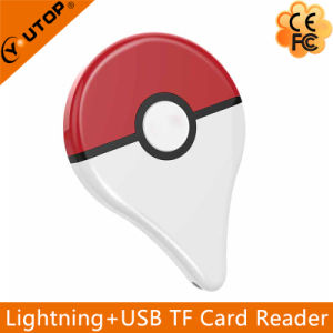 Microsd (TF) OTG Lightning Card Reader Expand Memory for iPhone iPad iPod (YT-R009) pictures & photos