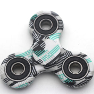 Spin Time 3-5 Minutes Colorful Paint Tri-Spinner Fidget Hand Gyro pictures & photos