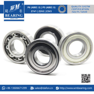 6309 Zz 2RS High Speed Spindle Radial Ball Bearing pictures & photos
