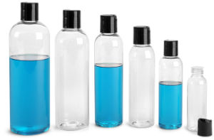 1oz 2oz 4oz 8oz 16oz Clear Cosmo Pet Bottle with Fine Mist Sprayer pictures & photos