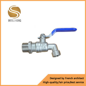 Bibcock Ball Valve with Long Handle Female to Male Thread pictures & photos