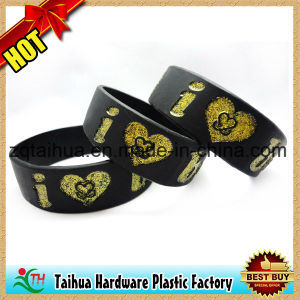 Nice Custom Silicone Wristband for Promotional pictures & photos